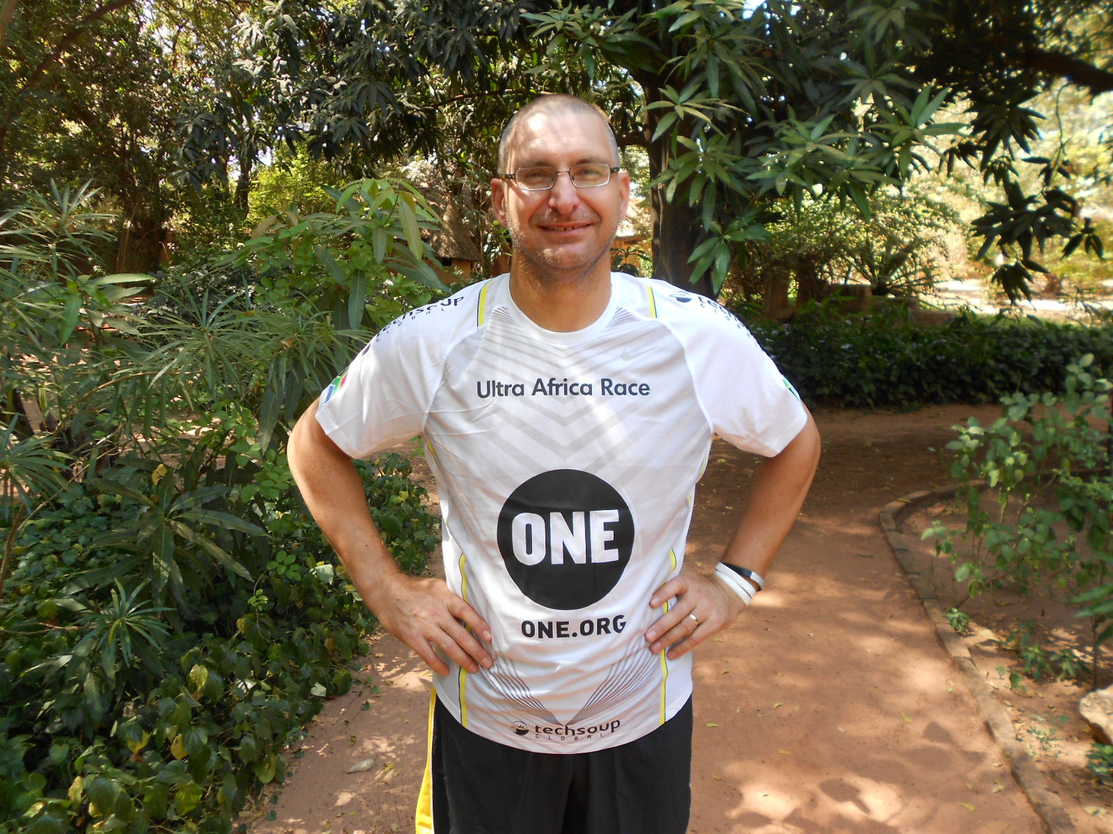 David's desert race for ONE: 5 marathons in 5 days across Burkina Faso